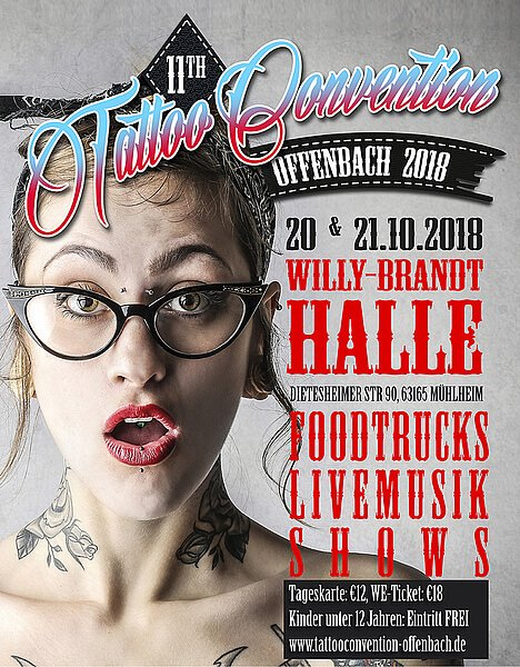 Tattoo Convention Offenbach 2018