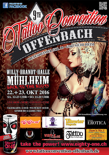 Tattoo convention Offenbach 2016